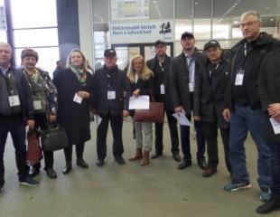 Участие делегации АСПОР и Центра Международного Обучения в международной строительной выставке